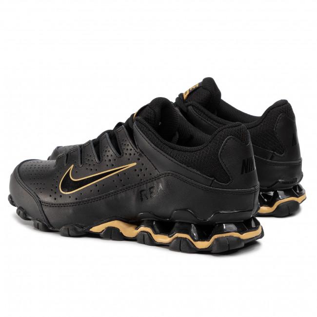 NIKE Reax 8 TR Scarpe Sport Tempo Libero Sneaker Scarpe da ginnastica BLACK ORO 616272-090