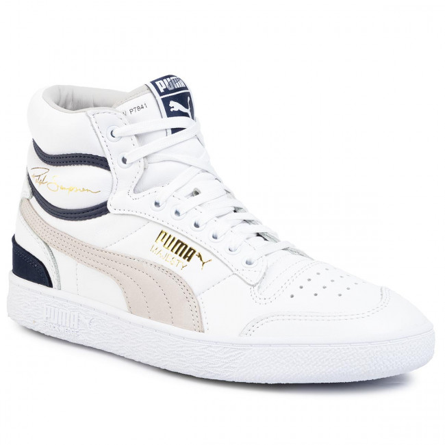 Sneakers PUMA Ralph Sampson Mid 370718 01 Puma WhtGrayVioletPeacoat
