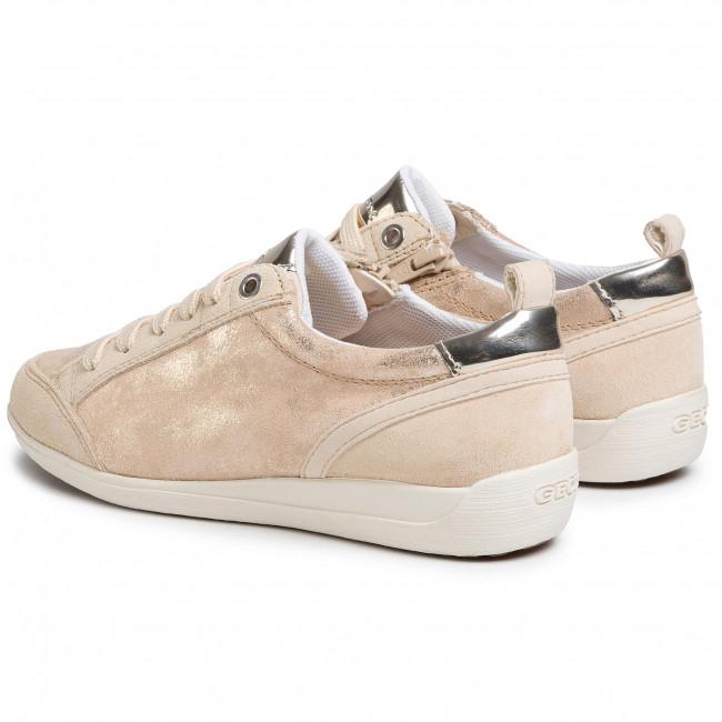 Sneakers GEOX - D Myria A D0268A 07722 C5004 Sand - Sneakers - Scarpe basse - Donna
