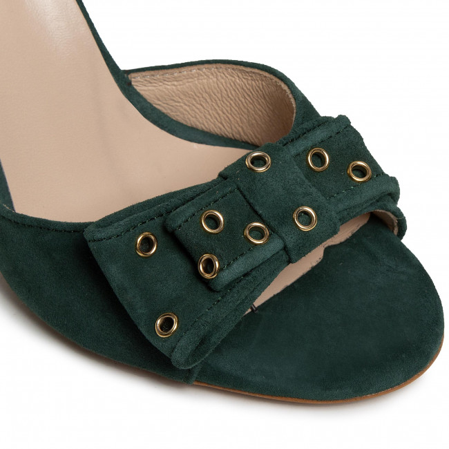 Sandali BALDOWSKI - D03095-3436-003 Zamsz Zielony 728 - Sandali eleganti - Sandali - Ciabatte e sandali - Donna