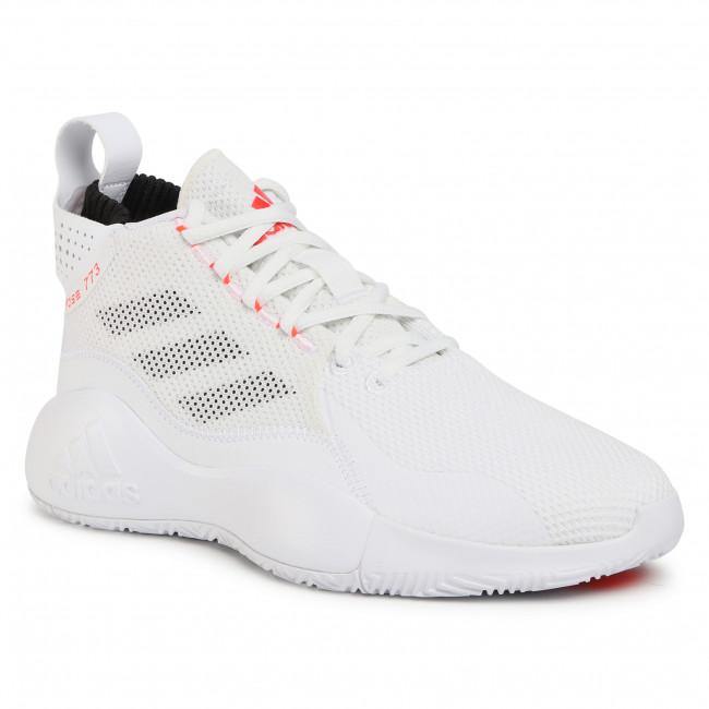 Scarpe adidas - D Rose 773 2020 FW8657 Ftwwht/Solred/Cblack