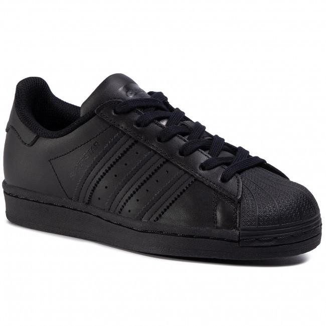 Scarpe adidas - Superstar J FU7713 Cblack/Cblack/Cblack