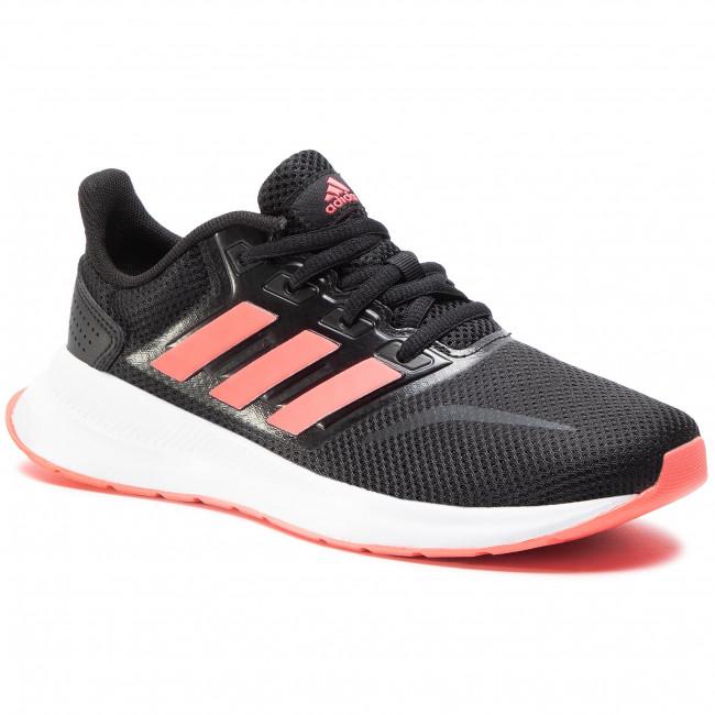 Scarpe adidas - Runfalcon K FV9441 Core Black/Signal Pink/Cloud White