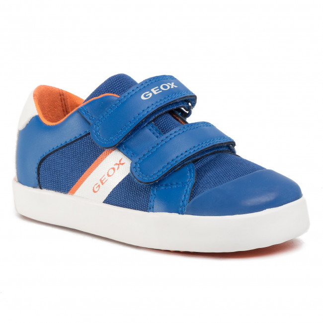 Sneakers GEOX B Gisli B. B B021NB 01054 C0685 S RoyalOrange