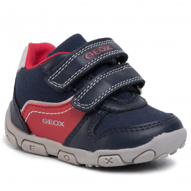 Sneakers GEOX B Balu' B. A B0236A 01050 C0735 NavyRed