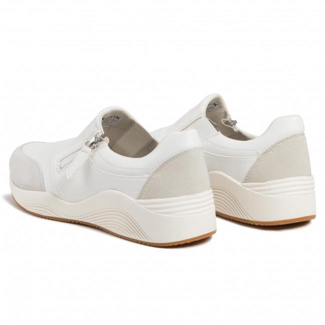 Prezzo scontato Geox Donna Sneakers Bianco D Omaya E D820SE