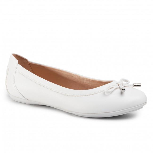 sito autorizzato prodotti di qualità migliore online Ballerine GEOX - D Charlene B D02Y7B 000BC C1405 Optic White ...