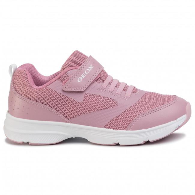 Sneakers GEOX J Hoshiko J024SC 00014 C0550 D PinkWhite
