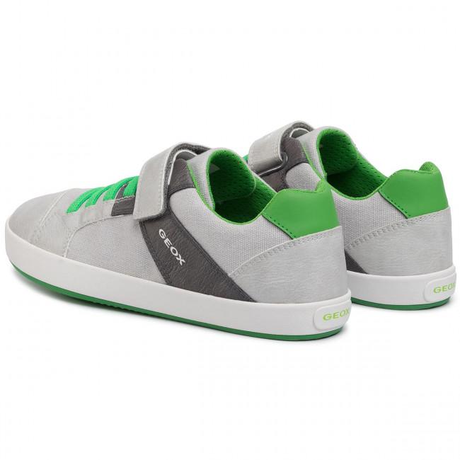 Sneakers GEOX J Gisli B. B J025CB 010FE C0001 D GreyDk Grey