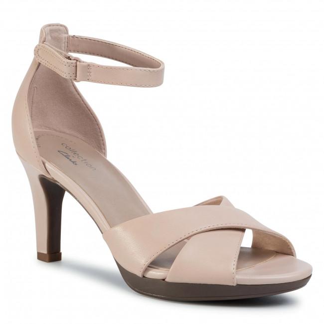 Sandali CLARKS - Adriel Cove 261500584 Blush Leather
