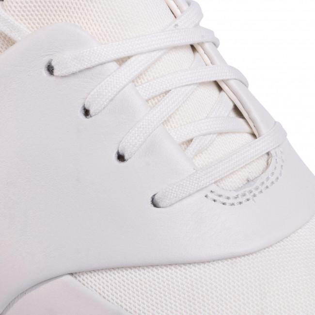 Sneakers CLARKS - Un Rio Lace 261403984 White Leather - Sneakers - Scarpe basse - Donna