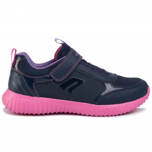 Sneakers GEOX J Waviness G. C J946DC 05411 C4268 D NavyFuchsia