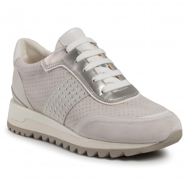 Sneakers GEOX D Tabelya A D94AQA 022BC C1209 Off WhiteWhite