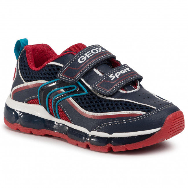 Sneakers GEOX J Android B. C J0244C 014BU C0735 M NavyRed
