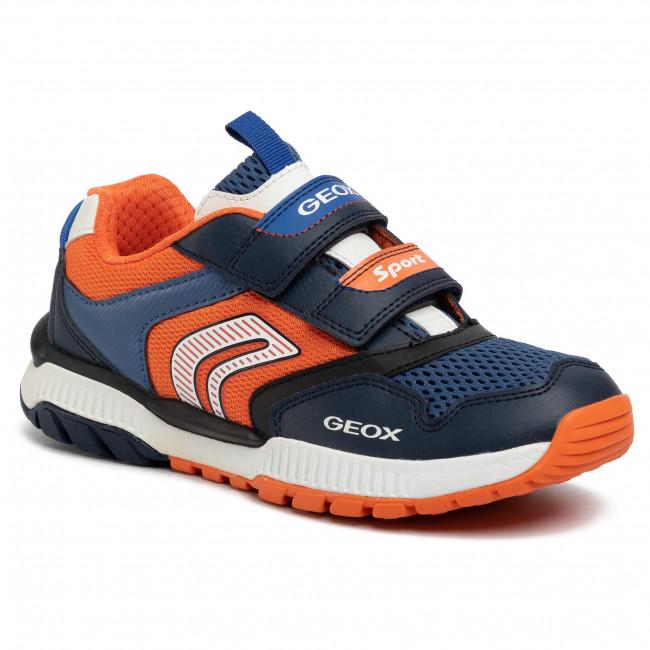 Sneakers GEOX J Tuono B.A J02AXA 014BU C0659 D NavyOrange