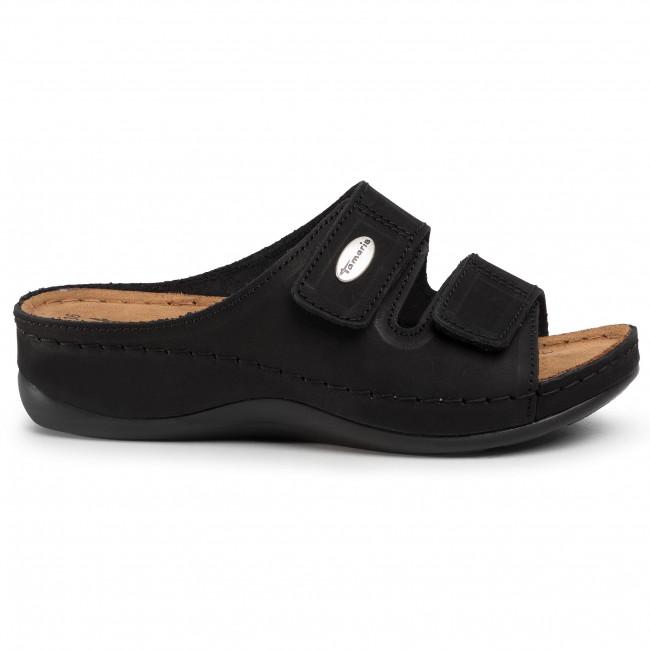 Ciabatte TAMARIS - 1-27510-24 Black 001 - Zeppe - Ciabatte e sandali - Donna