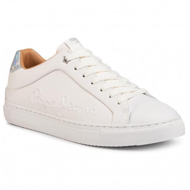 Sneakers PEPE JEANS - Adams Logo PLS30960 White 800