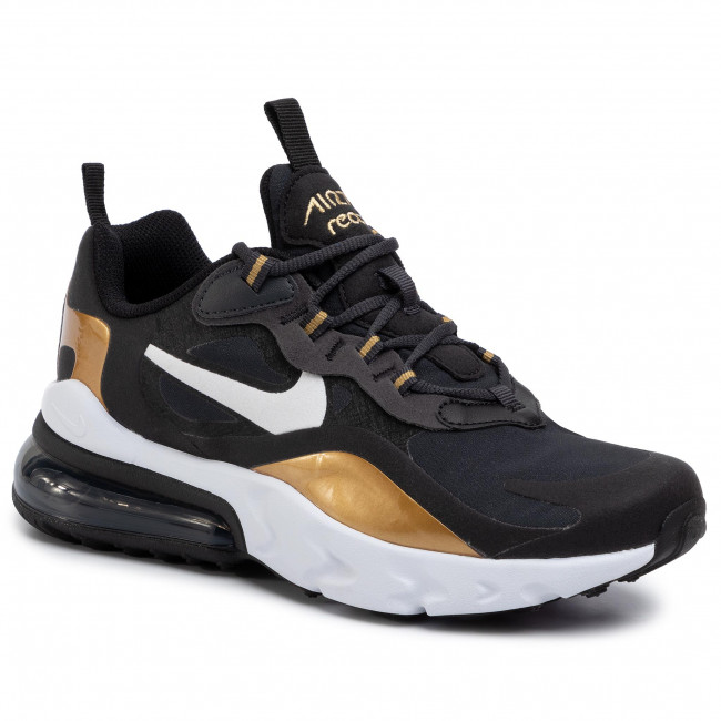 Scarpe NIKE Air Max 270 React (GS) BQ0103 005 AnthraciteWhiteBlack