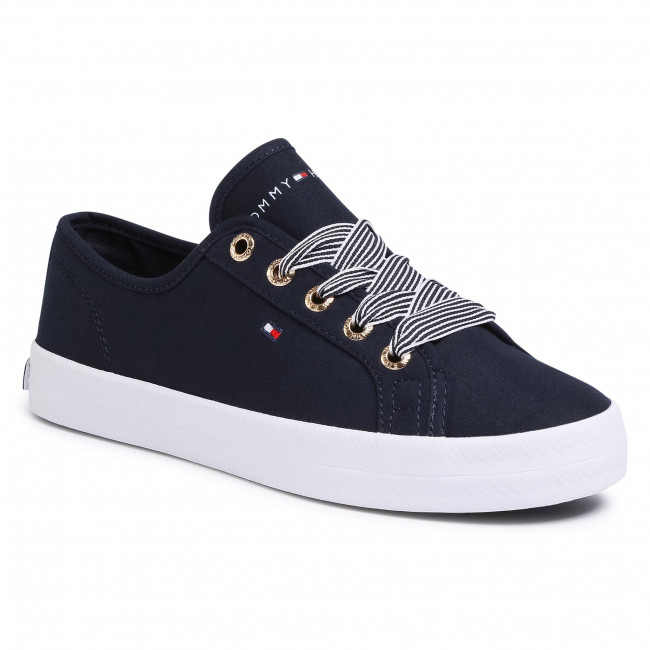 Scarpe sportive TOMMY HILFIGER - Essential Nautical Sneaker FW0FW04848 Desert Sky DW5