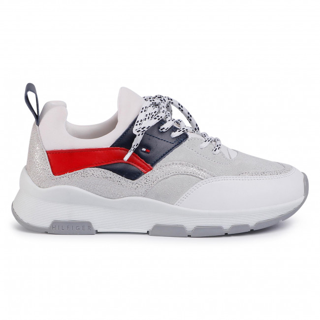 Chunky Glitter Trainers | GREY | Tommy Hilfiger