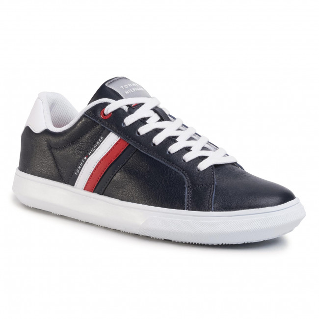Sneakers TOMMY HILFIGER Essential Leather Cupsole FM0FM02668 Desert Sky DW5