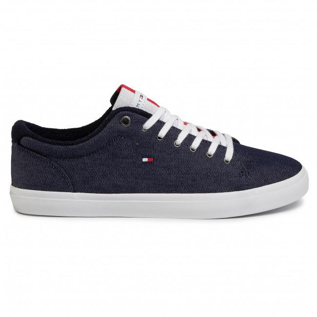 Scarpe sportive TOMMY HILFIGER Essential Long Lace Sneaker FW0FW02684 Desert Sky DW5