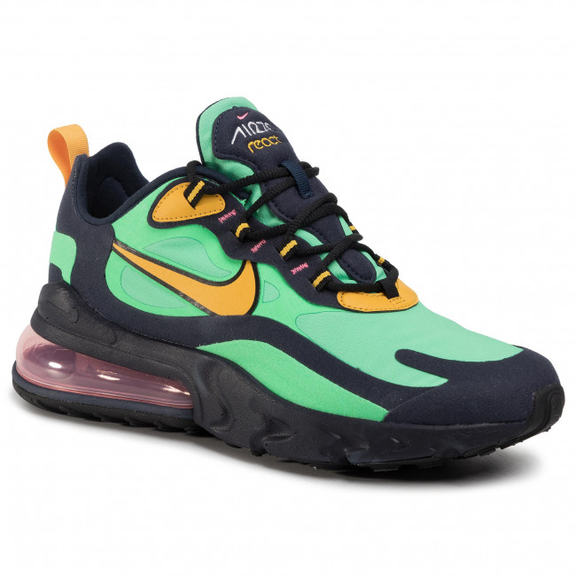 Scarpe NIKE Air Max 270 React AO4971 300 Electro GreenYellow Ochre
