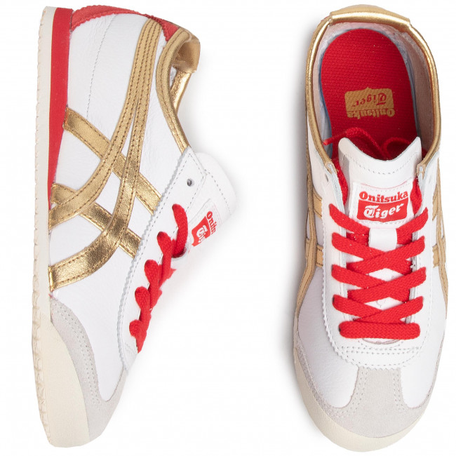 Sneakers ONITSUKA TIGER - Mexico 66 1183A788 White/Pure Gold 102 - Sneakers - Scarpe basse - Donna