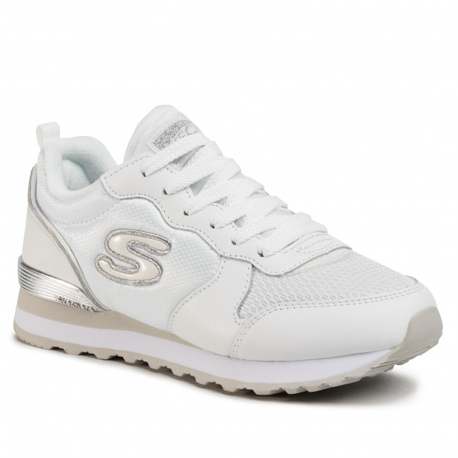 Sneakers SKECHERS - Goldn Gurl 111/WSL White/Silver