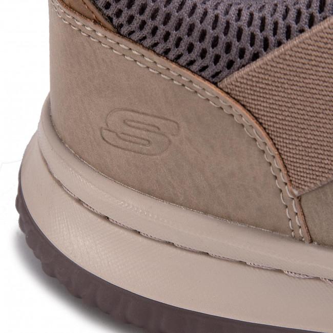 Scarpe SKECHERS - Delson 65474/TPE Taupe - Fitness - Scarpe sportive - Uomo