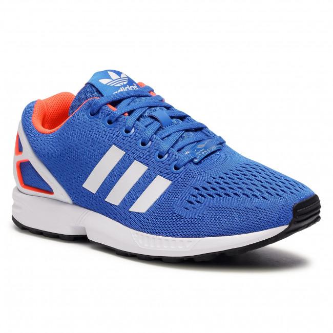 Scarpe adidas - Zx Flux FW0028 Blue/Ftwwht/Solred