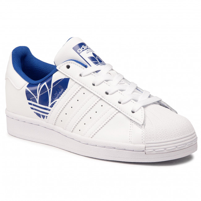 Scarpe adidas - Superstar FY2826 Ftwwht/Ftwwht/Royblu