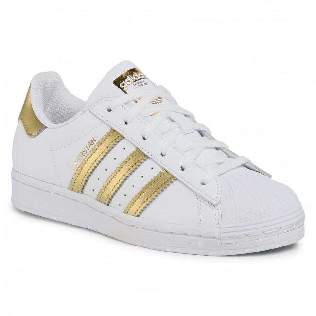 Scarpe adidas - Superstar W FX7483 Ftwwht/Goldmt/Ftwwht