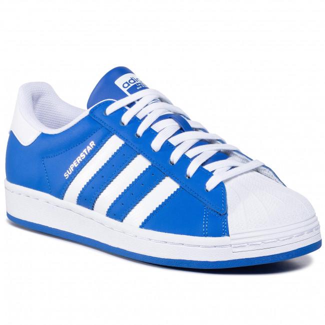 adidas blu superstar