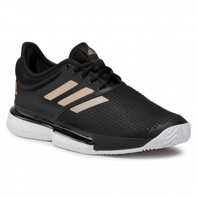 Scarpe adidas - Solecourt W FU8133 Core Black/Cloud White/Copper Metallic