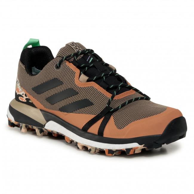 Scarpe adidas - Terrex Skychester Lt Gtx GORE-TEX FV6827 Hemp/Core Black/Glory Mint