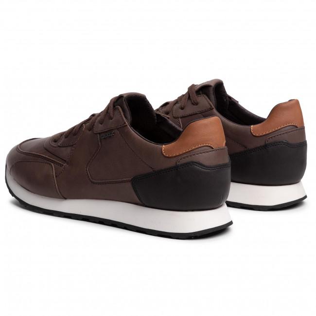 Sneakers GEOX U Vincit E U945VE 00043 C0630 BlackCoffee