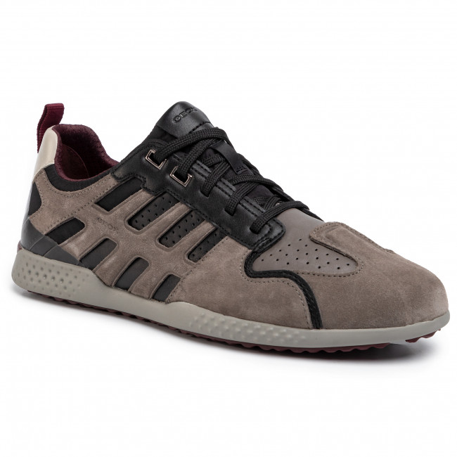 Sneakers Geox U Snake Beige Uomo Saldi :