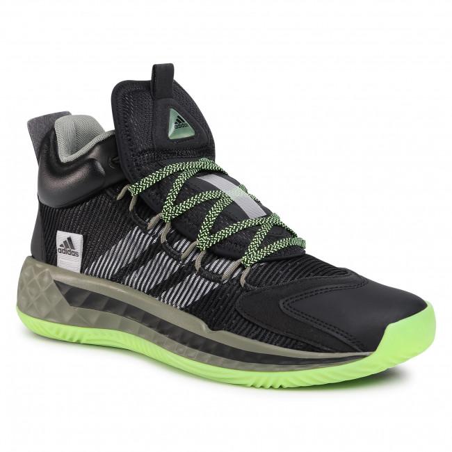 Scarpe adidas - Pro Boost Mid FW9510  Cblack/Ftwwht/Leggrn