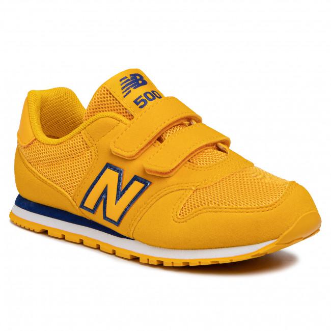 scarpe new balance bimbo giallo