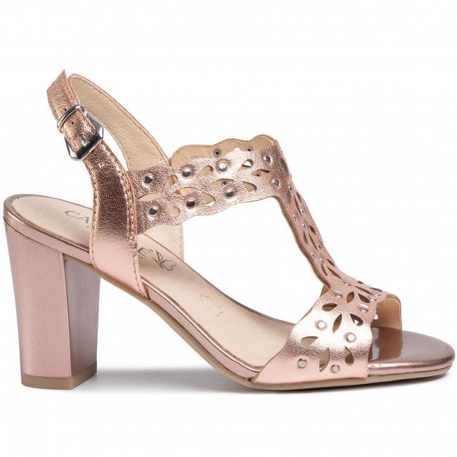 Sandali CAPRICE - 9-28315-24 Rosegold Metal 979 - Sandali da giorno - Sandali - Ciabatte e sandali - Donna