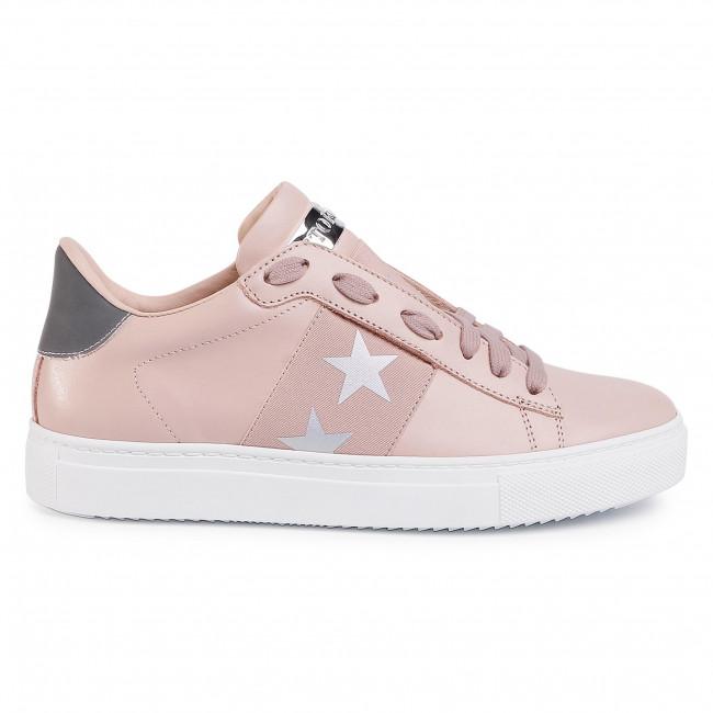 Sneakers STOKTON - 650-D-SS20 Vitello Pale Pink/Elastico Stelle - Sneakers - Scarpe basse - Donna