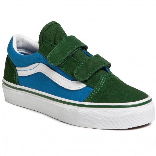 Sneakers VANS Old Skool V VN0A4BUVWK91 (2 Tone) MdtrnblGrnpstrs