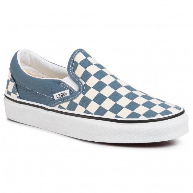 Scarpe sportive VANS Classic Slip On VN0A4U38WRU1 (Checkerboard) Blmirgtrwht