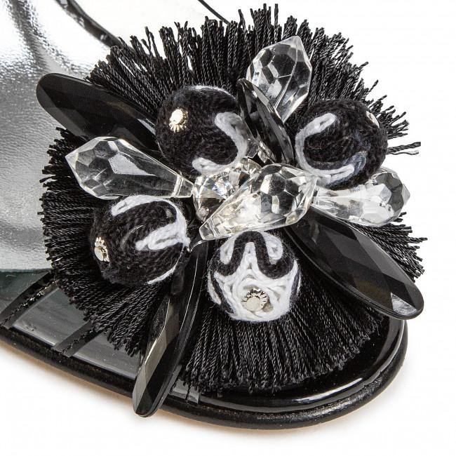 Sandali Azurée - Magna 01tc Vernis Noir/motif Noir 01 Eleganti Ciabatte E qZ1Sd
