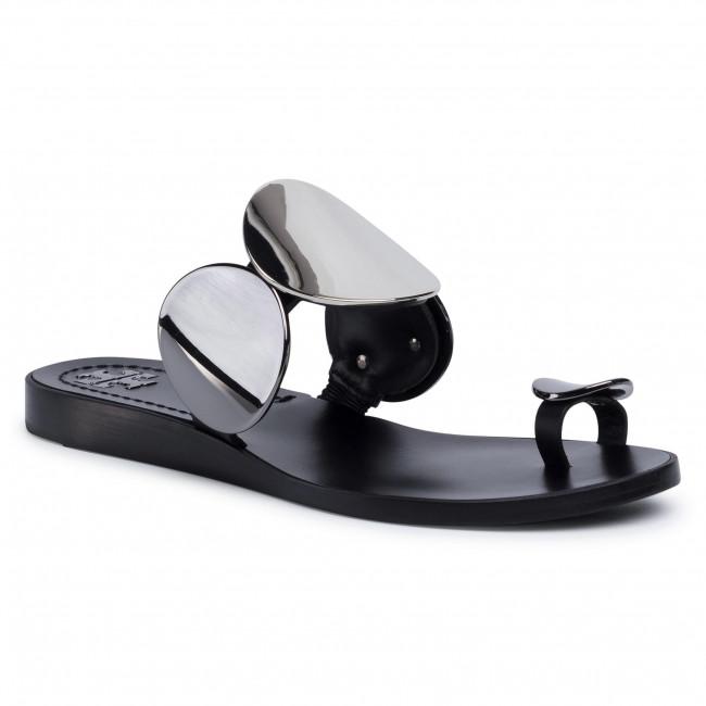 Infradito TORY BURCH - Patos Multi Disk Sandal 63573 Perfect Black 006