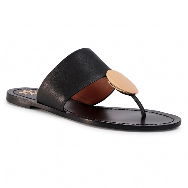 Infradito TORY BURCH - Patos Disk Sandal 73193 Perfect Black 006