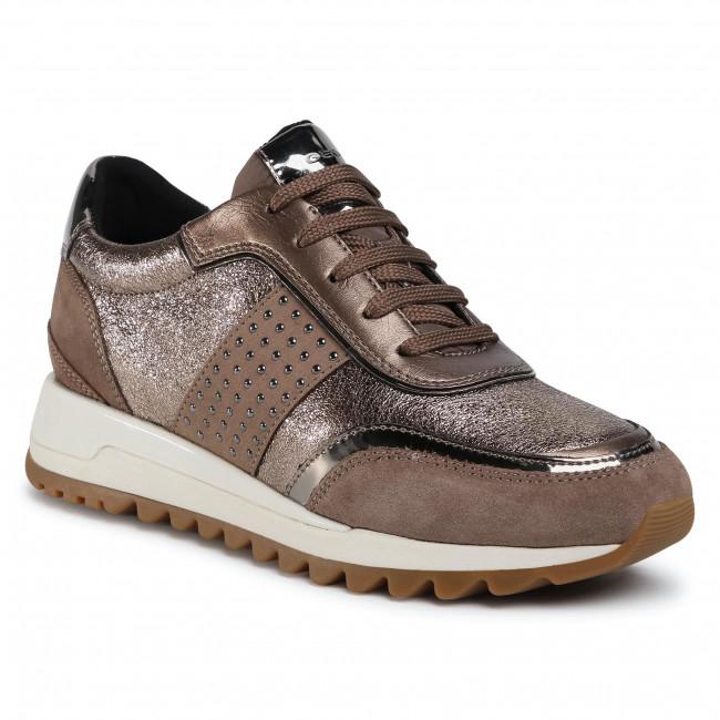 Sneakers GEOX - D Tabelya A D94AQA 022CF C5M9H Dk Beige/Lead