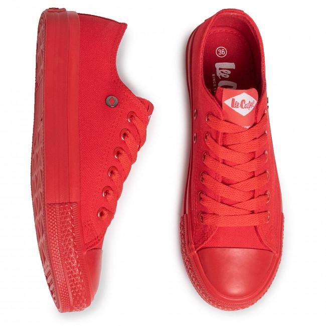 Scarpe da ginnastica LEE COOPER - LCWL-20-31-046 Red - Scarpe da ginnastica - Scarpe basse - Donna