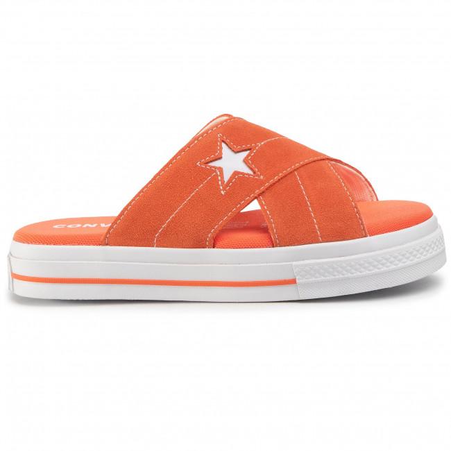 Ciabatte CONVERSE - One Star Sandal Slip 564146C Turf Orange/Egret/White